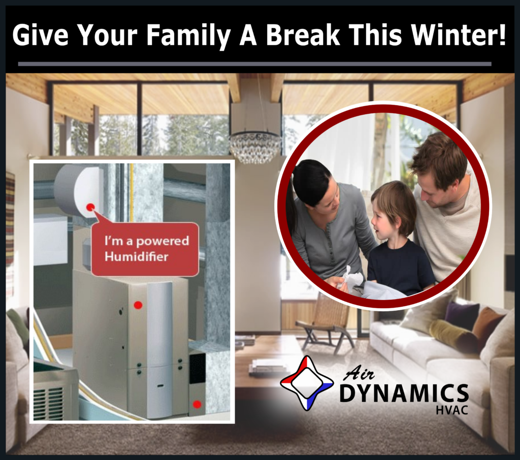 Air dynamics, hvac, humidifier, house, humidity control