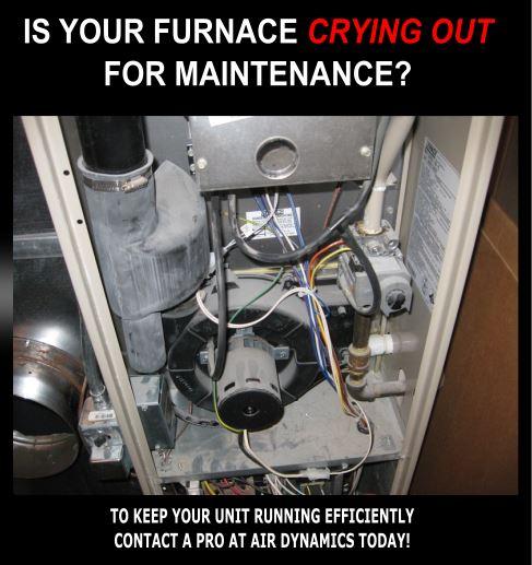 Maintenance | Air Dynamics | Furnace Maintenance