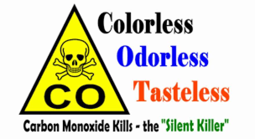 Air Dynamics HVAC   Danger Carbon Monoxide warning