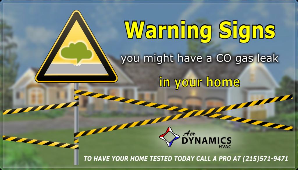 Air Dynamics HVAC | Greater Philadelphia HVAC Services | Carbon Monoxide Warning Signs