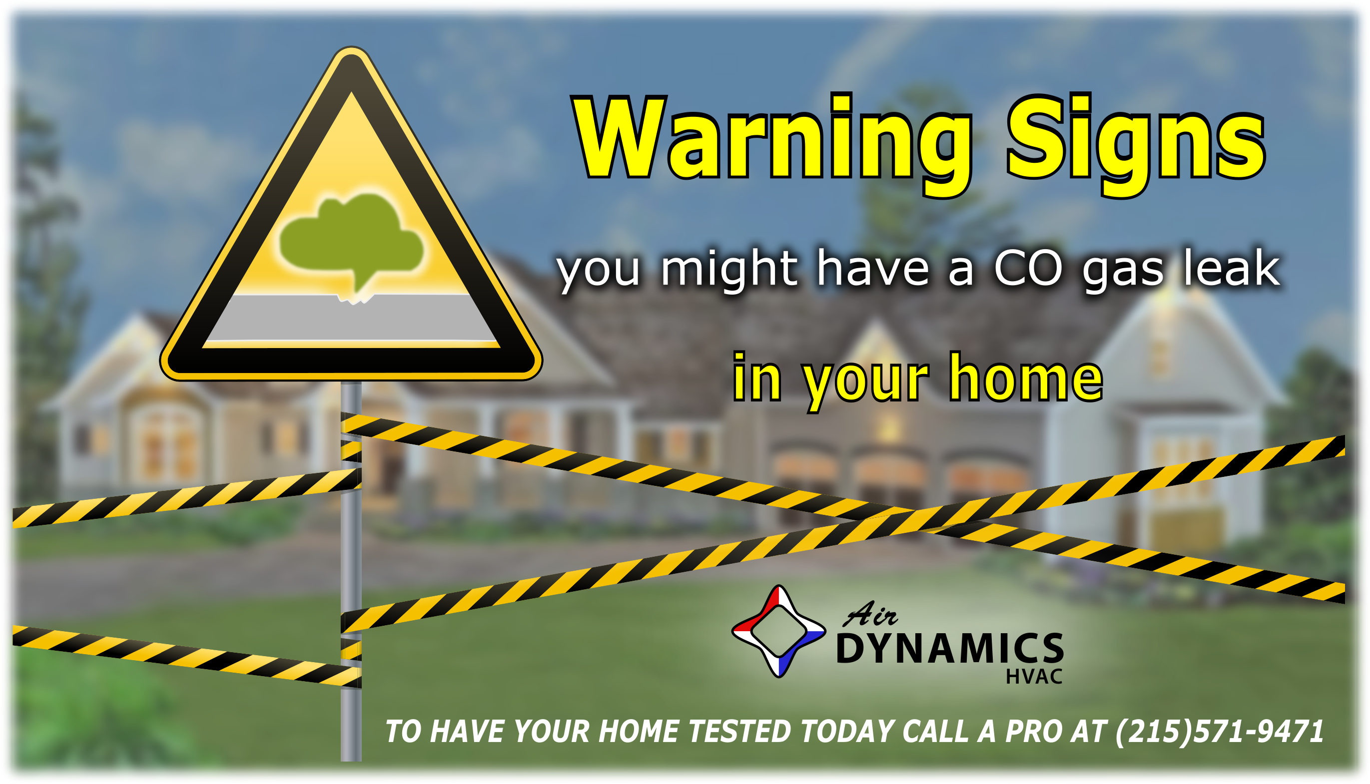 Air Dynamics HVAC | Greater Philadelphia HVAC Services | Carbon Monoxide Warning Signs