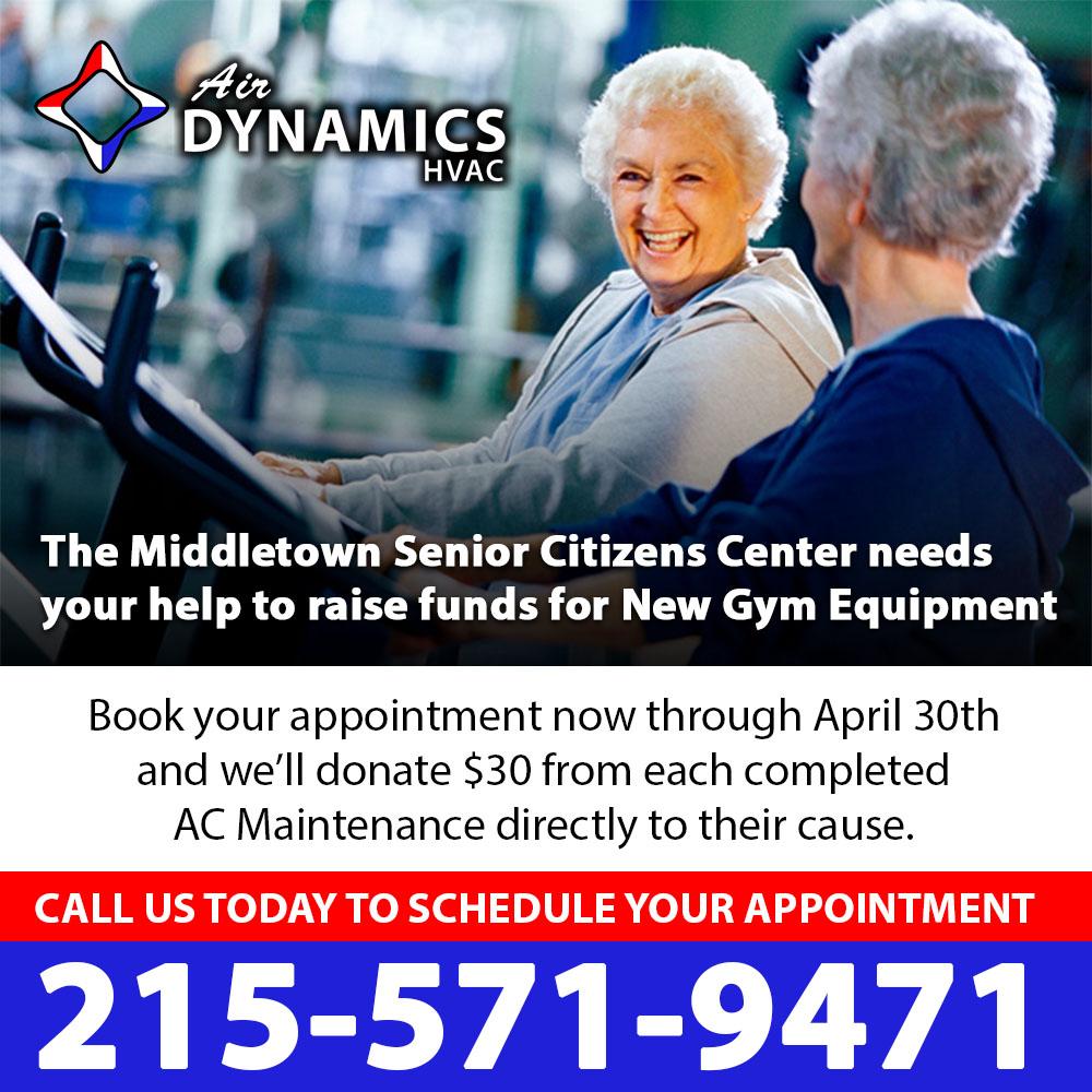 Air Dynamics HVAC | Middletown Senior Center | #AirDynamicsCares